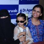 4 year old child from Yemen saved from becoming visually challenged