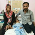 3yr old baby gets new lease of life at Sakra World Hospital