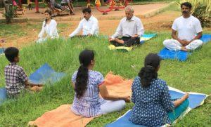 Yoga Day by Mahanasa Ayurveda