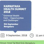 Karnataka Health Summit – 2018