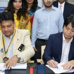 Sakra World Hospital signs MoU with Rotary Palmville