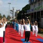 Colourful Yoga Day