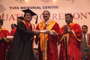 Dr Jayaprakash K P awarded degree of DM Critical Care Medicine