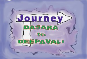 Journey fro dasara to deepevali