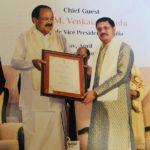 Renowned Sanskrit poet Dr. Shankar Rajaraman honoured with Presidential Award