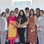Columbia Asia Hospital receives  'Award for Excellence in Healthcare Operations'