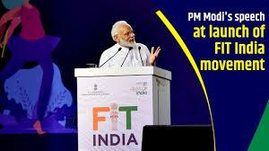 Prime minister Modi - Fit India
