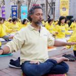 Falun Dafa:Celebrity hairstylist Gabriel Georgiou's  'secret' of inspiration!?