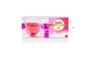 aromatic infusion made of pure rose petals