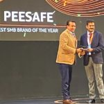 Pee Safe bags 'The Best SMB Brand of the Year' award