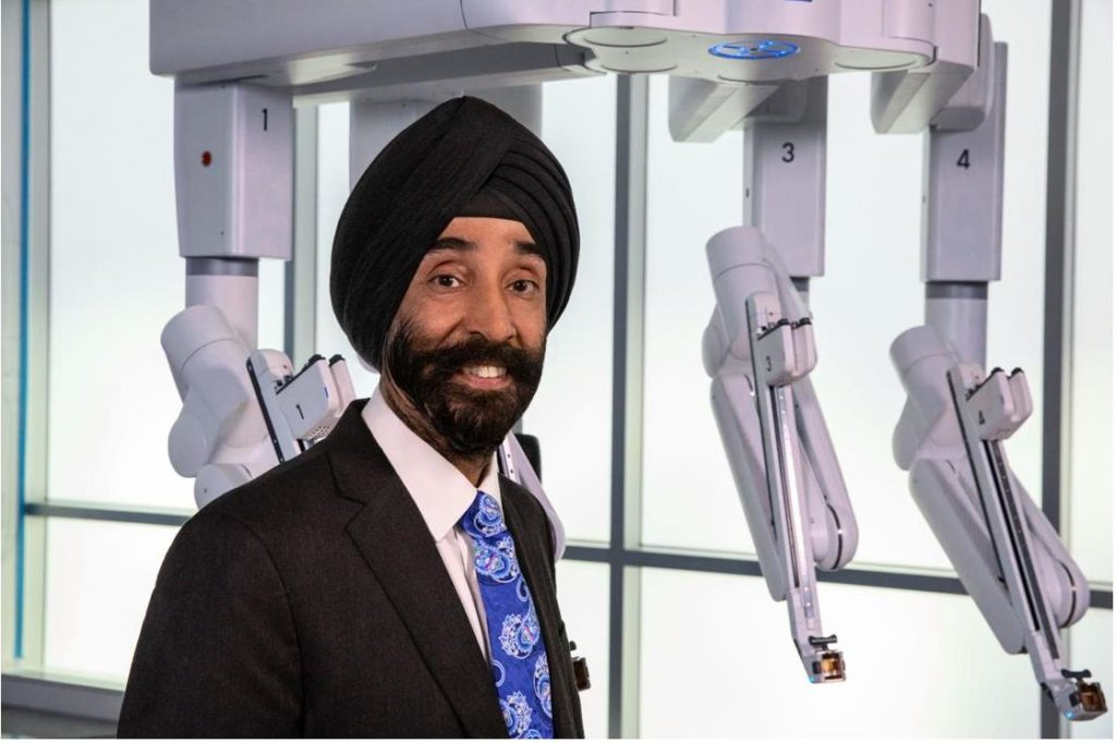 Mandeep Singh Kumar- Vice President and GM, Intuitive Surgical India