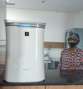 SHARP-Air-Purifier-in-Civil-Surgeon-Hospital