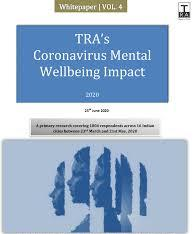 TRA's mental well-being inndex -Delhi (NCR) and Guwahati stands out