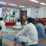 International day of yoga in Shanghai