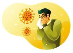 Allergic rhinitis - how to tell apart from COVID 19 during this pandemic 2020 ?